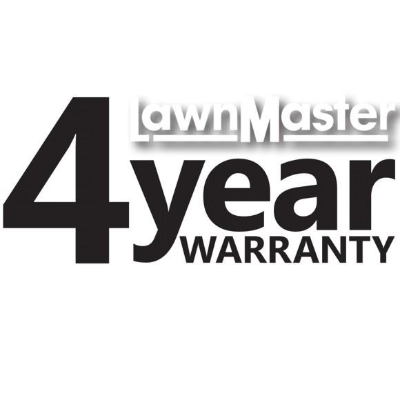 LawnMaster_4_year_warranty_logo
