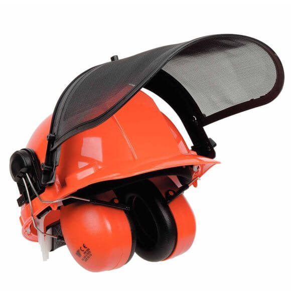 Chainsaw helmet domestic