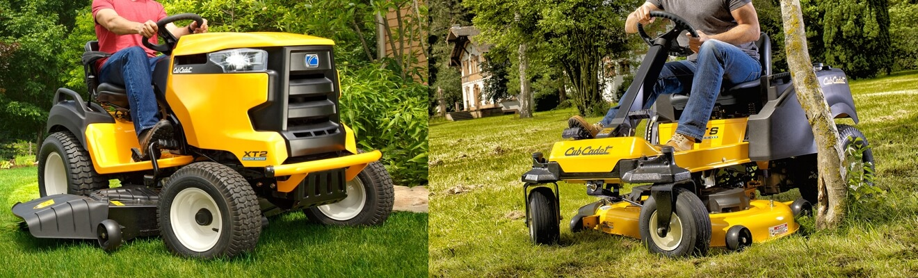 Cub Cadet ride on lawn mower image
