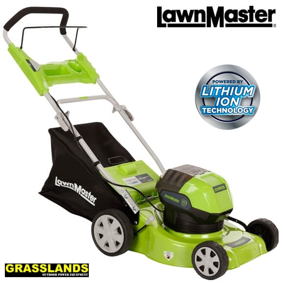 LawnMaster 16 58V lawn mower