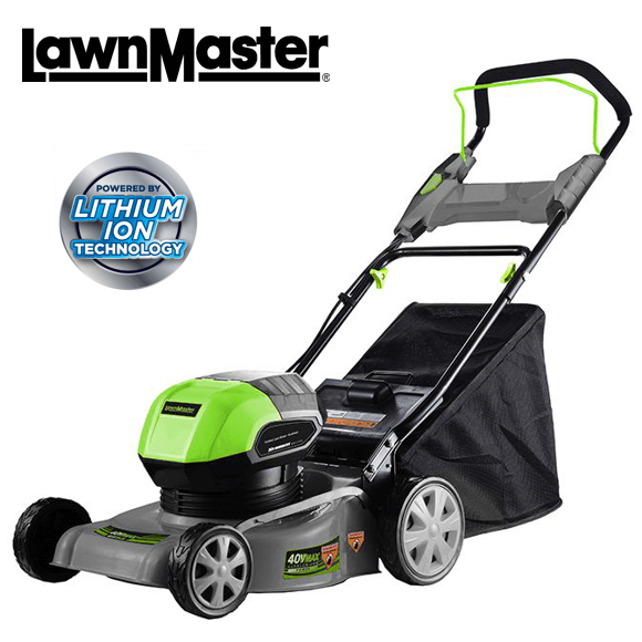 LawnMaster 16 40V lawn mower