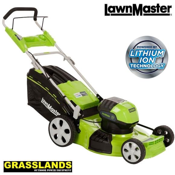 LawnMaster 20 58V lawn mower