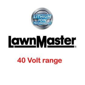 LawnMaster 40 volt range