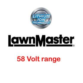LawnMaster 58 volt range