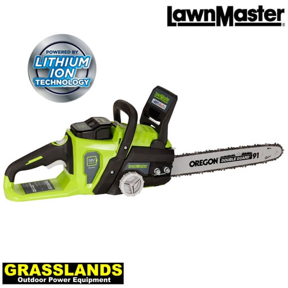 LawnMaster 58v chainsaw