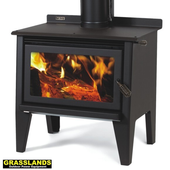 Metro Xtreme Rad wood fire