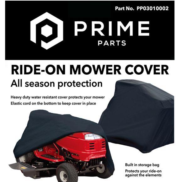 Rider mower cover