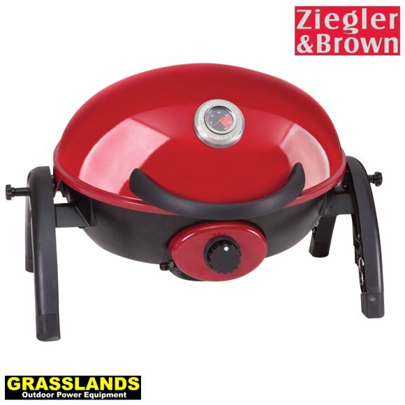 Portable grill in Chilli Red