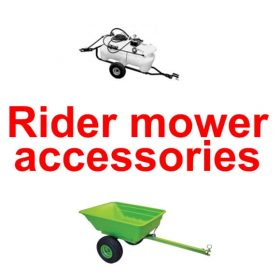 Accessories - Rider mowers