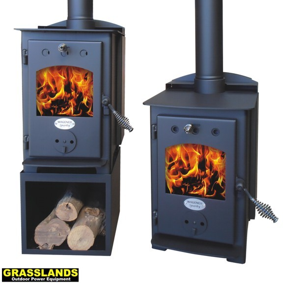 Wagener Sparky wood fire